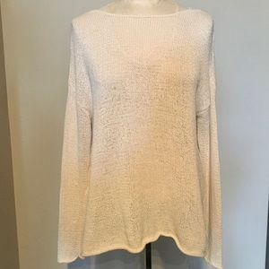 Workshop loose weave sweater